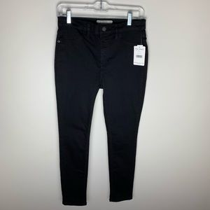 Free People High Rise Skinny Jeans Black 28S